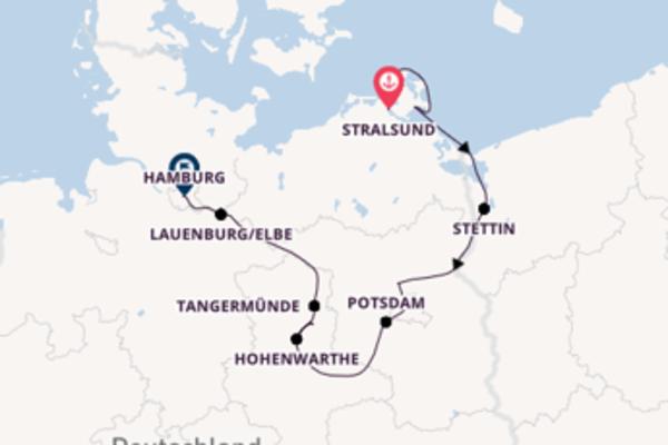 9 Tage Elbe Kreuzfahrt