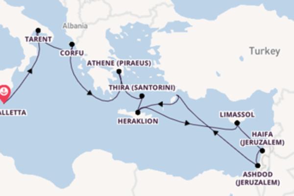 Geniet van het romantische Rhodos met TUI Cruises