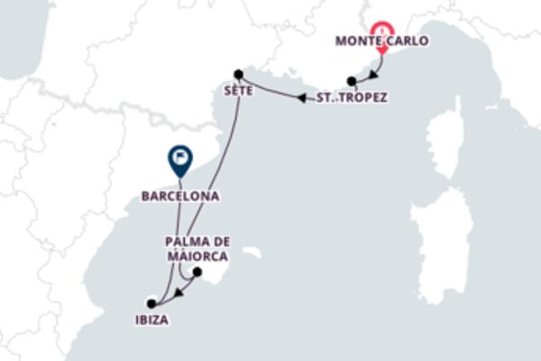 França e Espanha com o Crystal Symphony