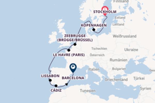 Wunderschöne Reise über Vigo in 14 Tagen