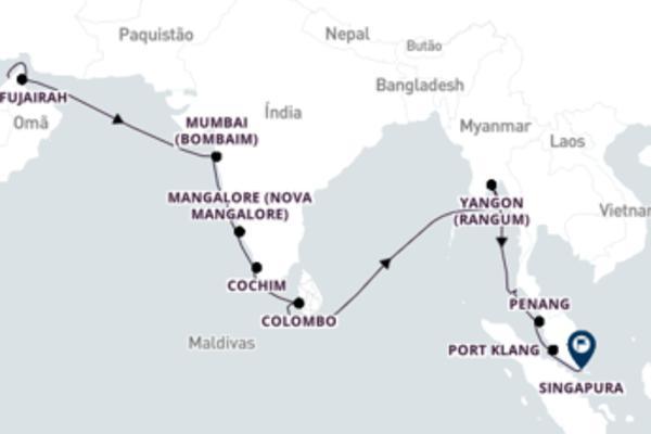 Cruzeiro de 23 dias a bordo do Seven Seas Explorer