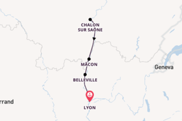 5 day cruise with the Camargue to Lyon
