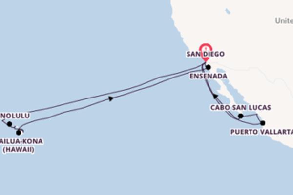 Fare rotta verso Honolulu a bordo di Koningsdam