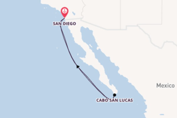 Cruising from San Diego, California with the Carnival Miracle