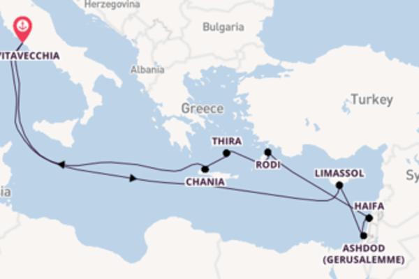 Fare rotta verso Ashdod (Gerusalemme) a bordo di Odyssey of the Seas