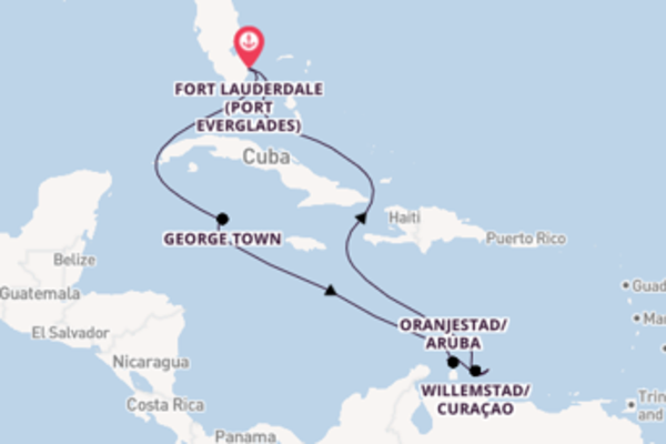Wonderful journey from Fort Lauderdale with Celebrity Cruises