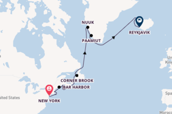 Cruise with Regent Seven Seas Cruises from New York