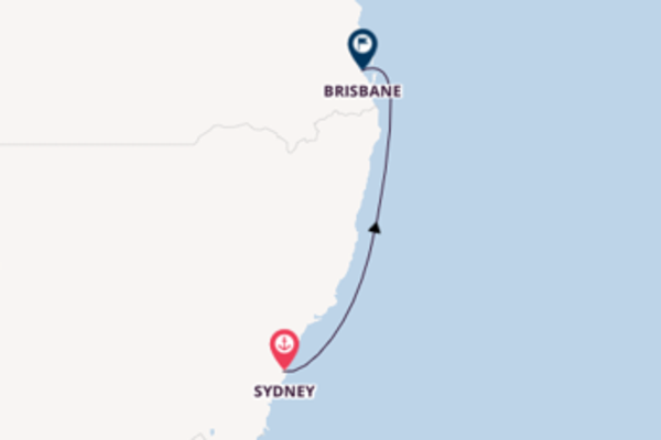 Trip from Sydney with the Sapphire Princess