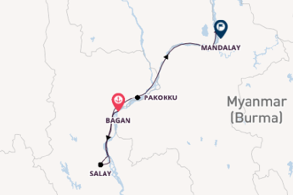 Delightful voyage from Bagan with Pandaw Cruises