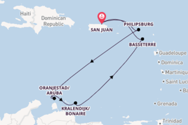 Cruise from San Juan with the Voyager of the Seas