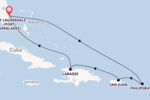 8 day expedition from Fort Lauderdale