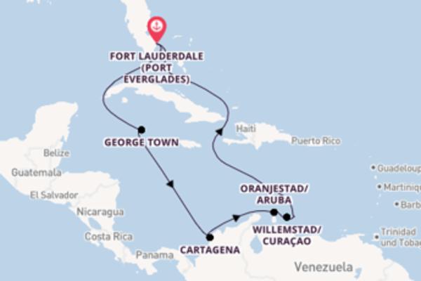 Beeindruckende Reise nach Fort Lauderdale (Port Everglades)
