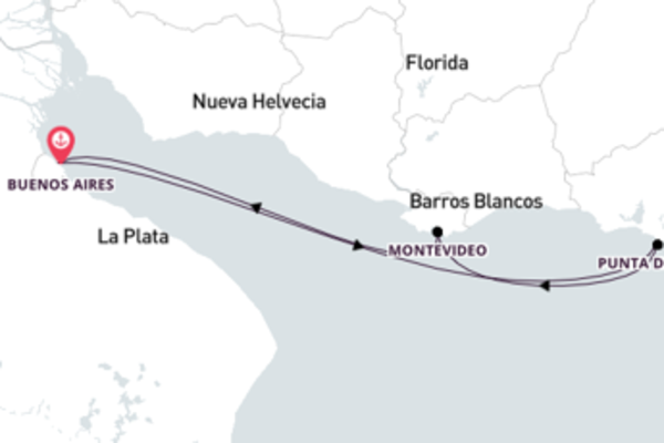 Fabuloso cruzeiro de 4 dias a bordo do Costa Pacifica