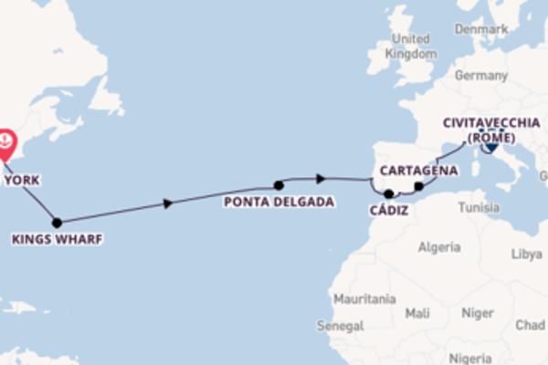 Vaar langs het sensationele Cartagena