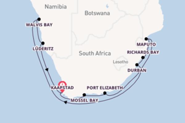 Geniet van het ongekende Durban met Regent Seven Seas Cruises