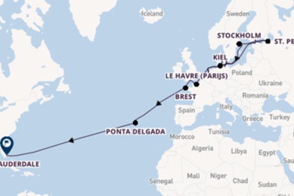 Cruise in 29 dagen naar Fort Lauderdale met Holland America Line