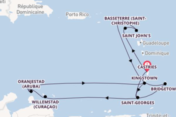 15 jours pour découvrir Oranjestad