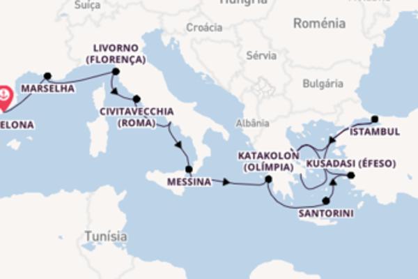 Sublime viagem de 12 dias com a Norwegian Cruise Line