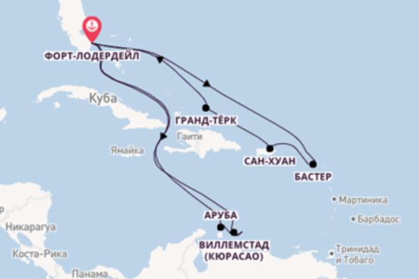 Захватывающее путешествие на 17 дней с Princess Cruises
