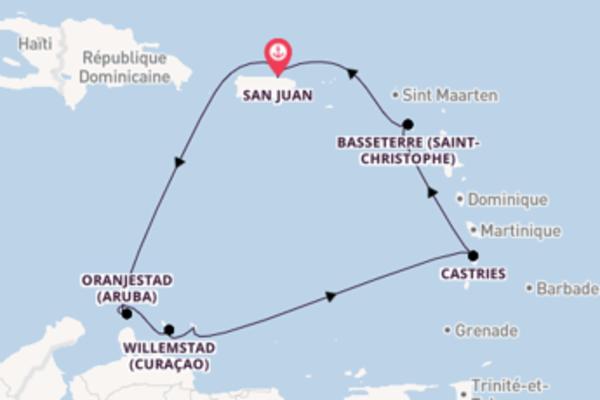 Explorez avec Norwegian Cruise Line , la destination: Kralendijk