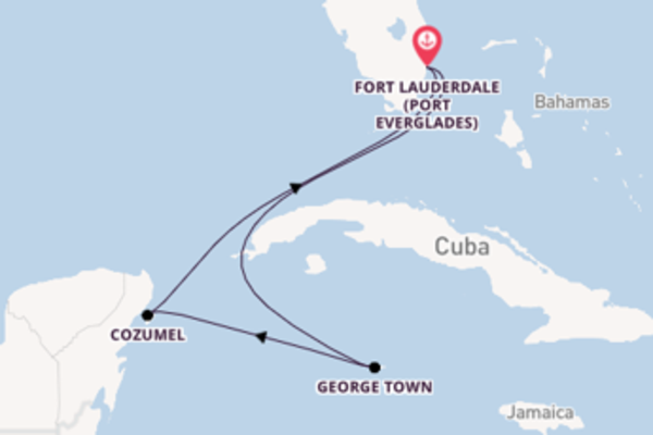 6 day trip on board the Independence of the Seas from Fort Lauderdale