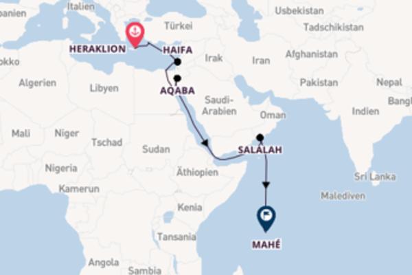Herrliche Reise über Rhodos in 19 Tagen