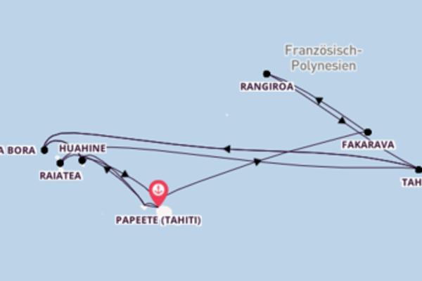 Französisch Polynesien in 18 Tagen II