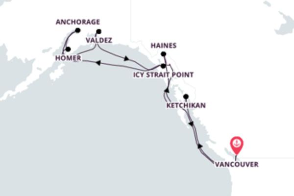 Navegue a bordo do Maasdam em 15 dias
