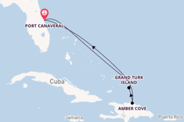 6 day cruise with the Carnival Elation to Port Canaveral