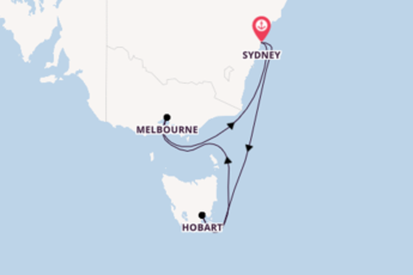 Cruising from Sydney with the Radiance of the Seas