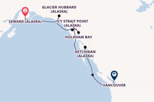 Sublime balade de 8 jours au départ de Seward (Alaska)