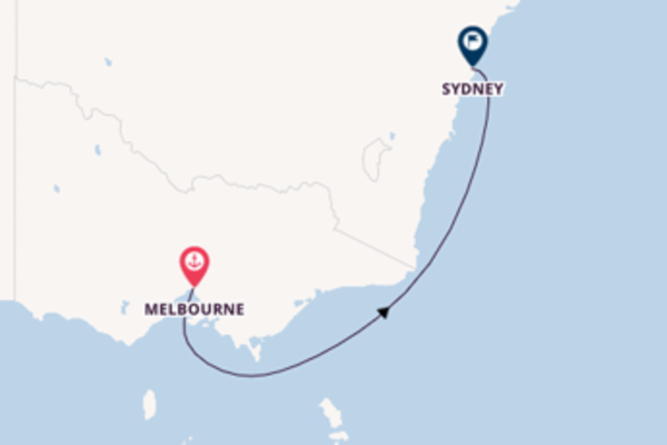 Expedition with the Queen Elizabeth to Sydney from Melbourne