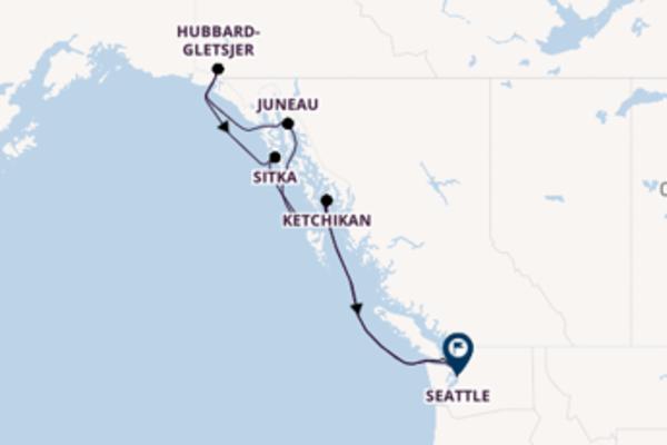 8-daagse reis aan boord van de Westerdam