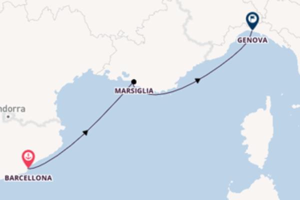 Rilassante viaggio di 3 giorni a bordo di MSC Virtuosa