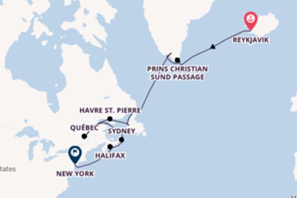 Geniet van het waanzinnige Gaspé met Silversea