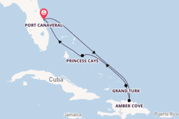 Meraviglioso viaggio di 7 giorni a bordo di Carnival Elation