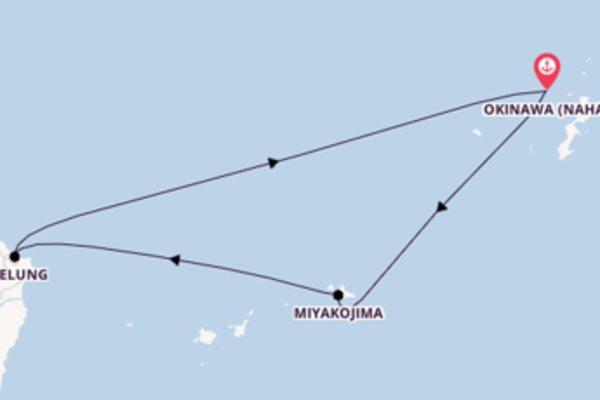 In 4 Tagen nach Okinawa (Naha) über Miyakojima