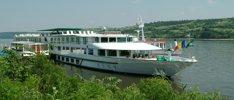 Neujahr auf dem Rhein