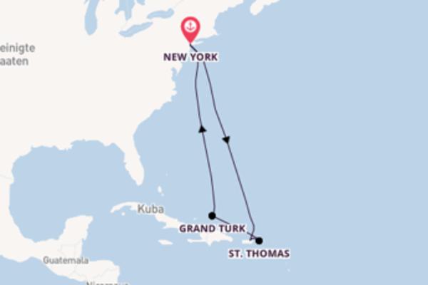In 9 Tagen nach New York über San Juan