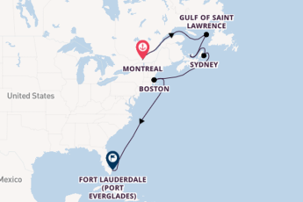 10 day expedition from Montreal