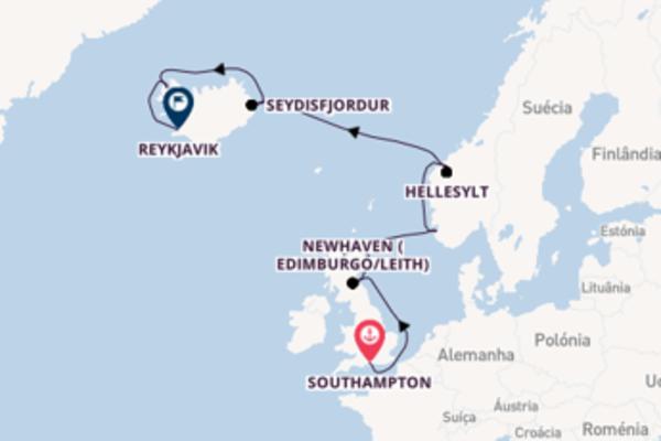 A bordo do Norwegian Star em um cruzeiro de 12 dias