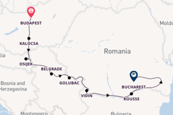8 day cruise with the Viking Lif to Bucharest