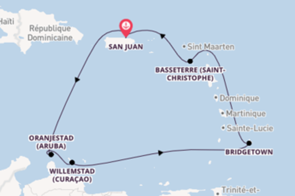Explorez à bord du bateau Norwegian Epic, la destination: Bridgetown