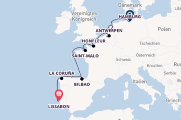 Westeuropa - Kulturschätze und spannende Städte