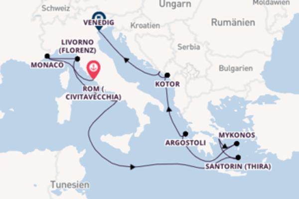 12 Tage unterwegs mit der Norwegian Dawn