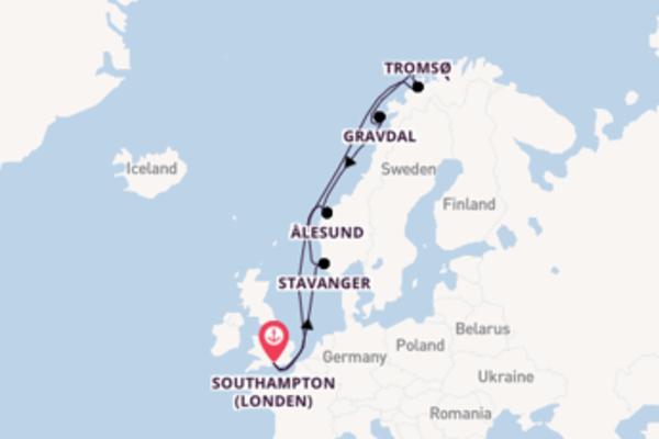De pracht van het ongekende Tromsø