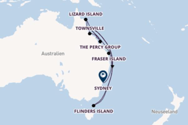Australien von Cairns bis Sydney entdecken