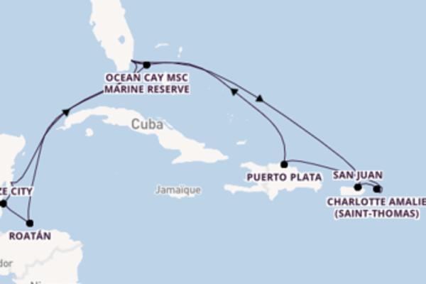 Puerto Plata et une mémorable croisière depuis Miami (Floride)