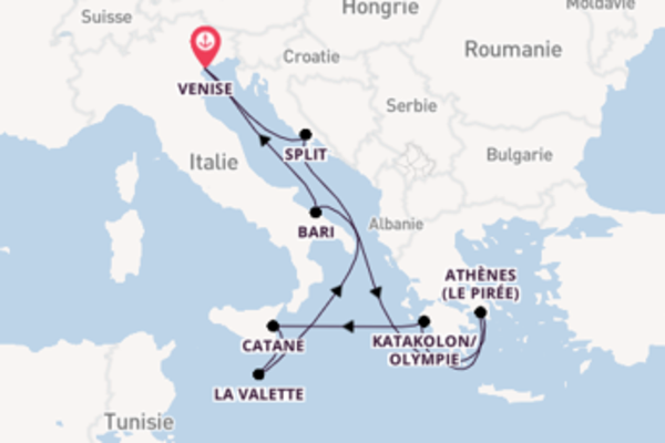 Merveilleuse balade de 10 jours avec Costa Croisières