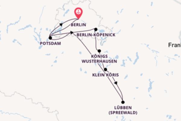 Mit Rad & Schiff die Höhepunkte Berlins und Potsdams sehen